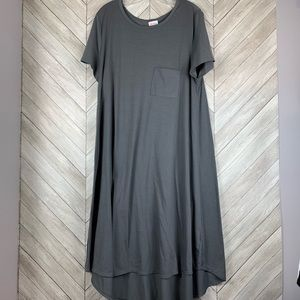 Super cute solid gray Carly. 2xl